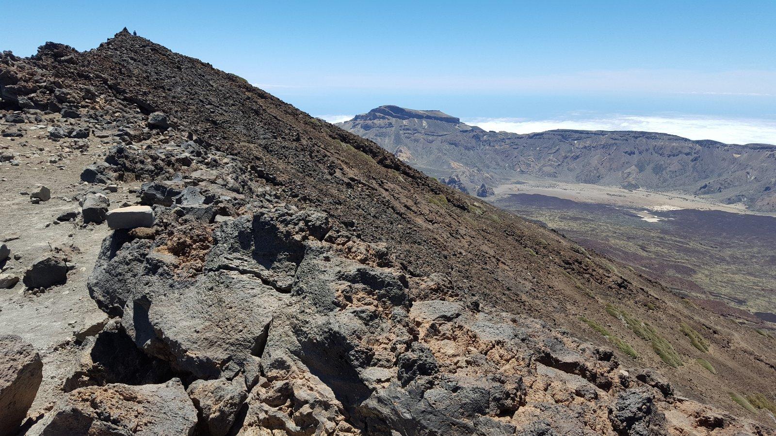 Pico Sur e Alto de Guajara sullo sfondo.