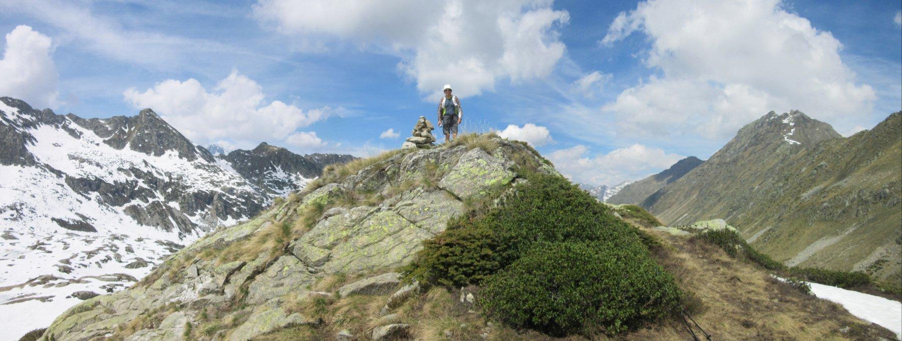 Pier Albino sul Monte Kick