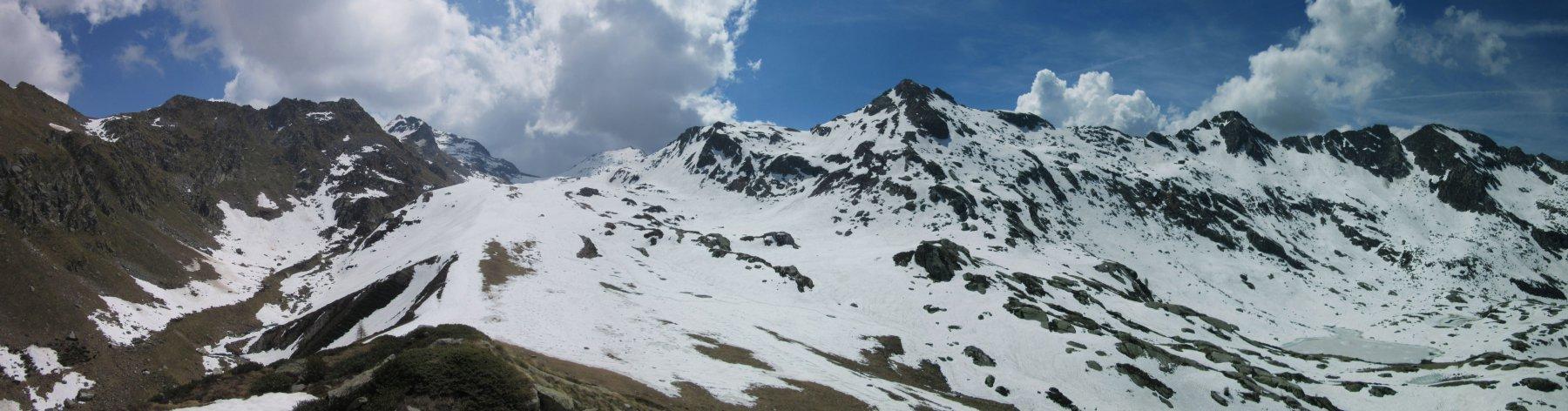 Panorama dalla cima del Monte Kick