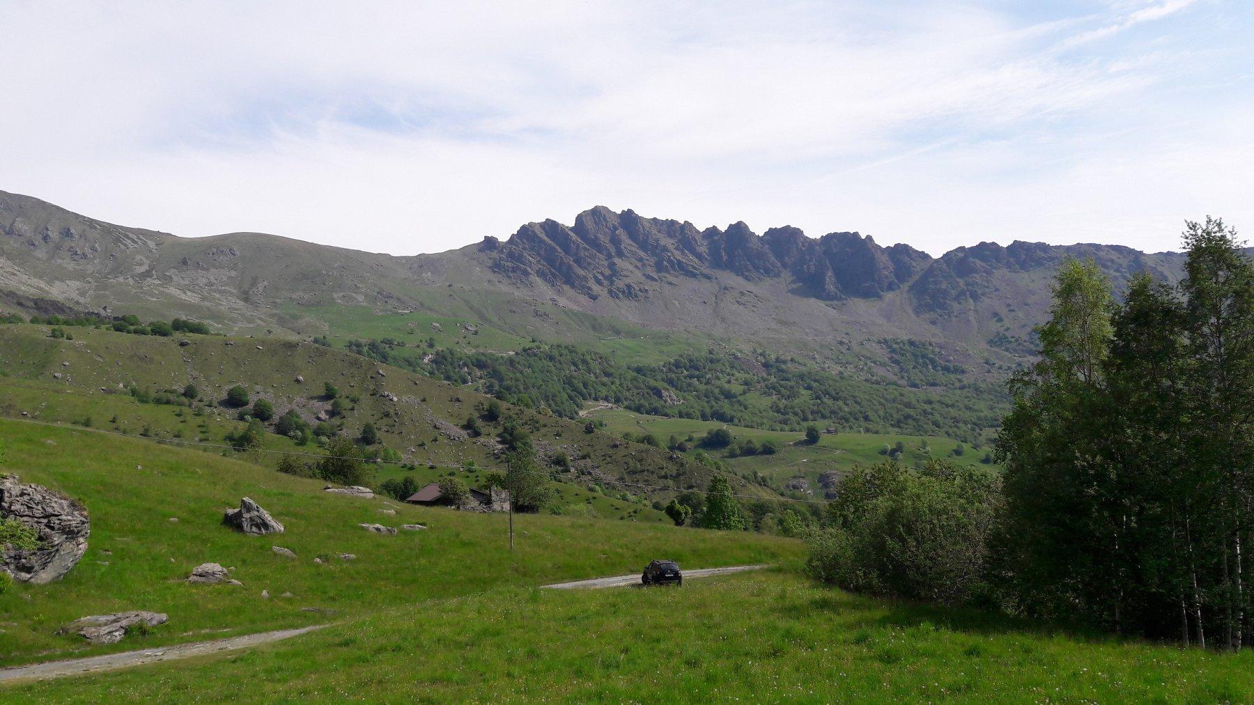 Rocca Moross alla partenza