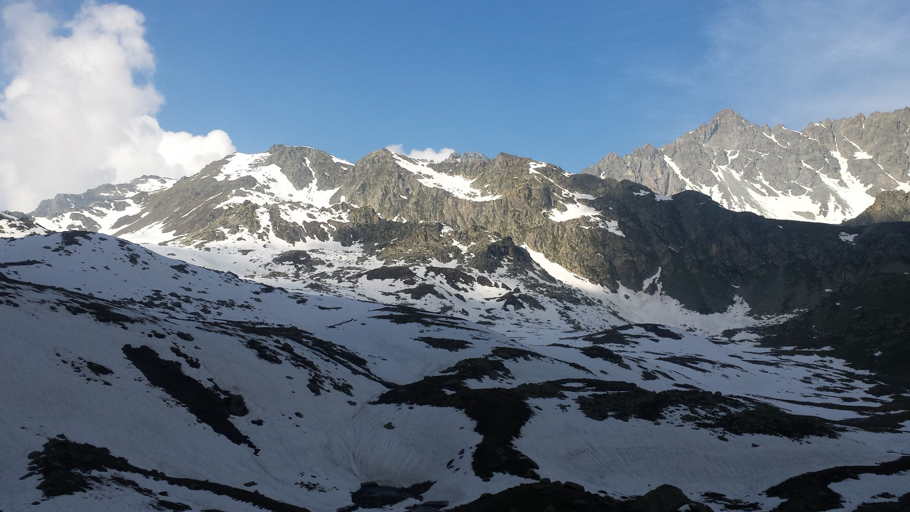 situazione neve verso Alpetto