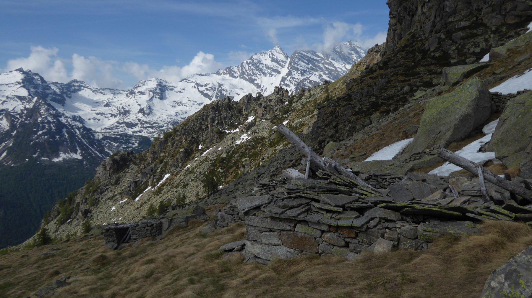 Ruderi Alpe Boiret