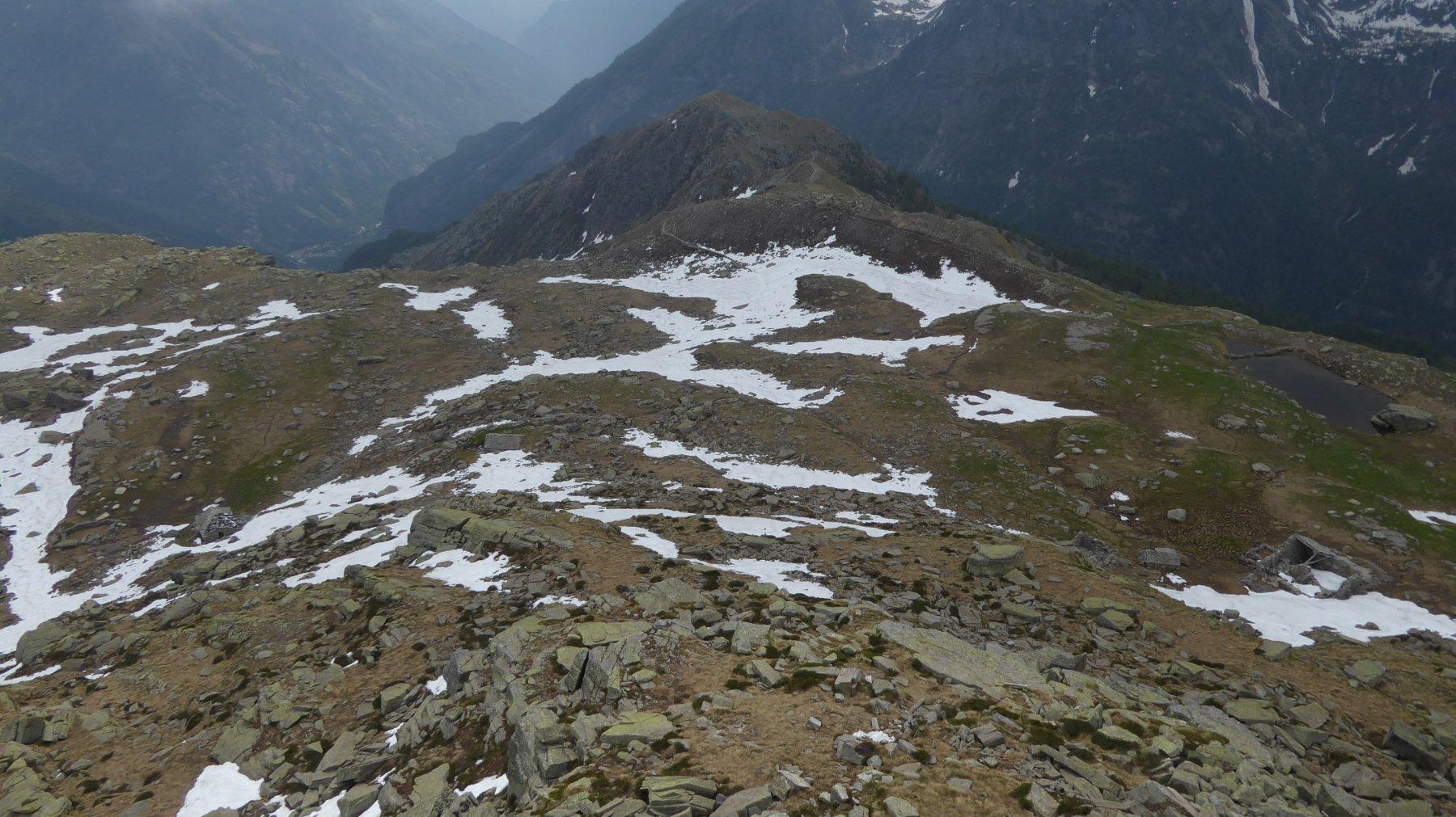 Alpe Loserai, Colle Sià e Merola