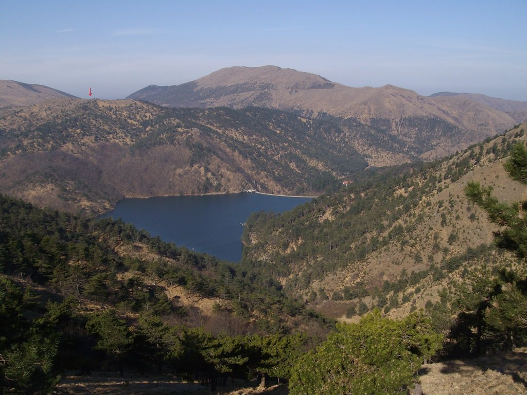 Lago Lungo con dietro il m.Moro