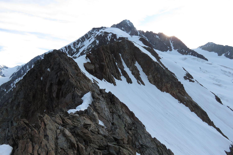 la cresta al Col des Glaciers