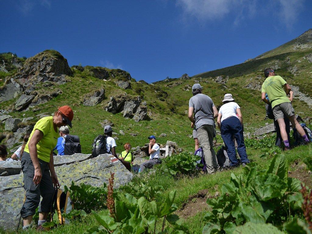Sosta all'Alpe Arzola