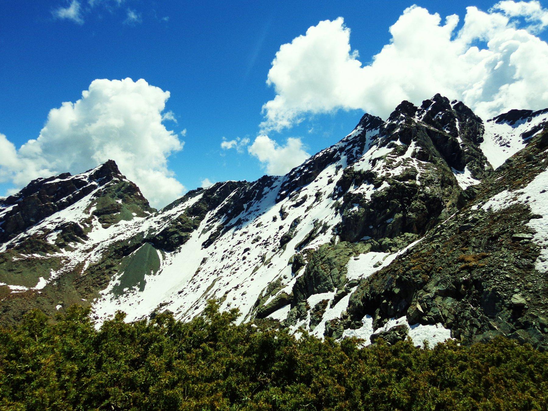 Mont Ruvì, Col Varotta e Mont Avic