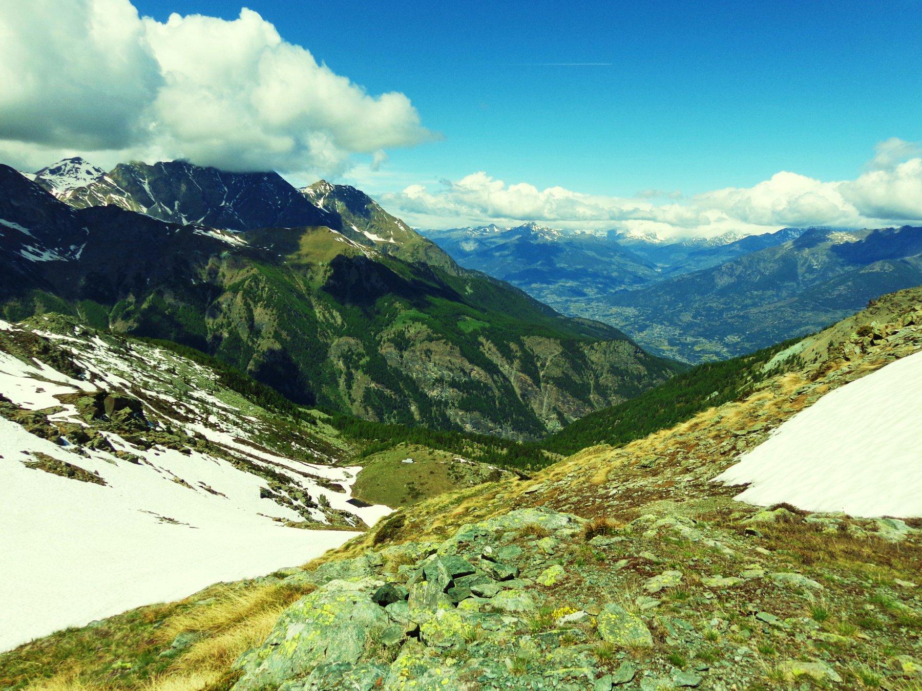 Panorama verso Val Clavalitè