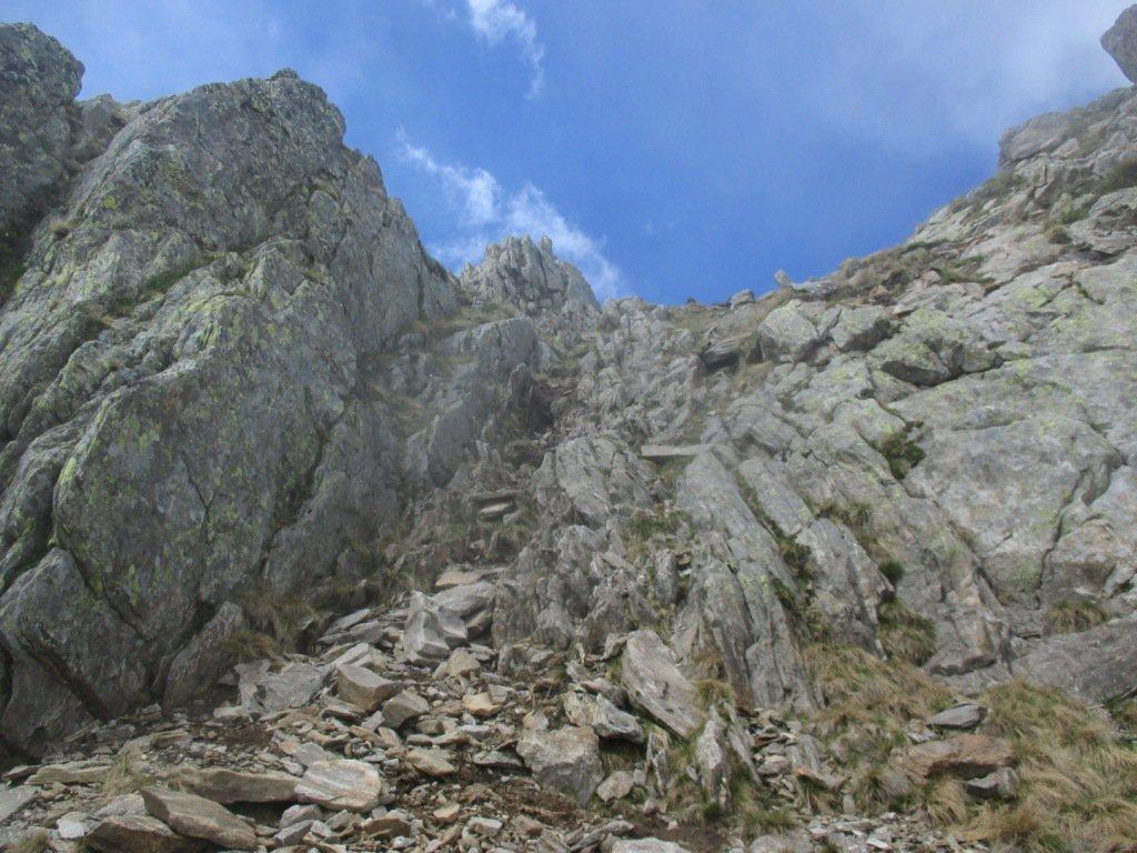 canalino/camino prima della cima