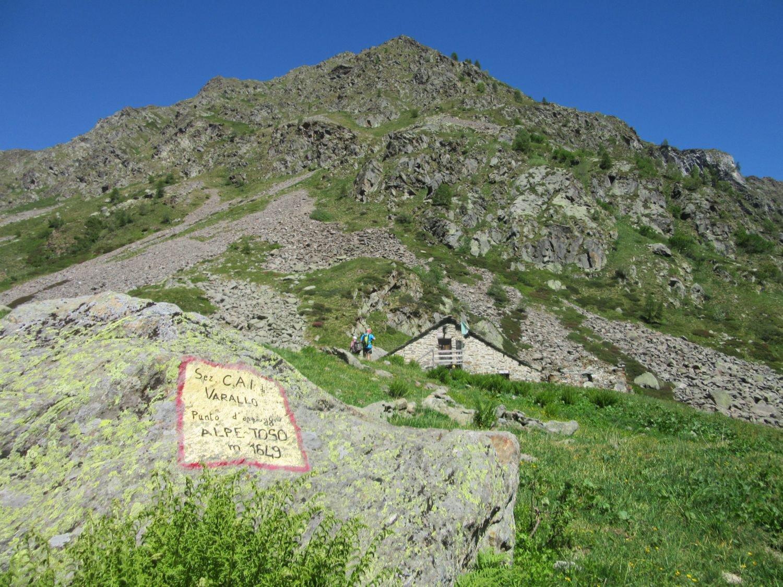 Punto d'appoggio Alpe Toso