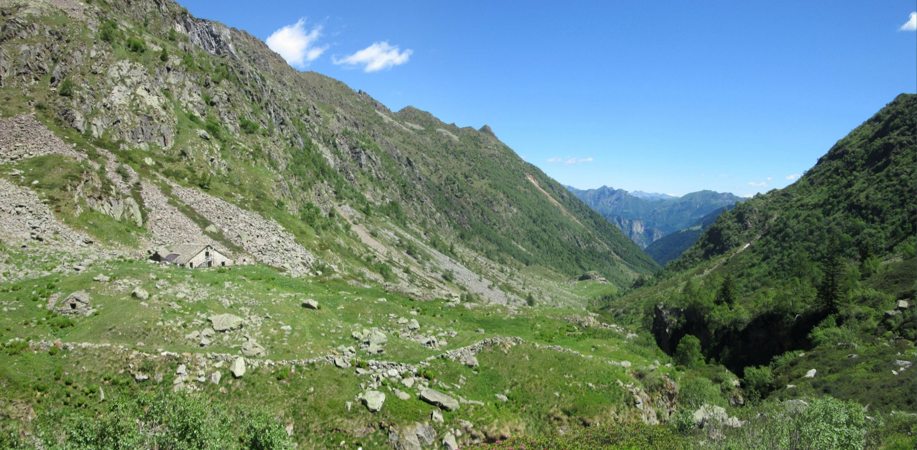 panorama sulla Val Sorba