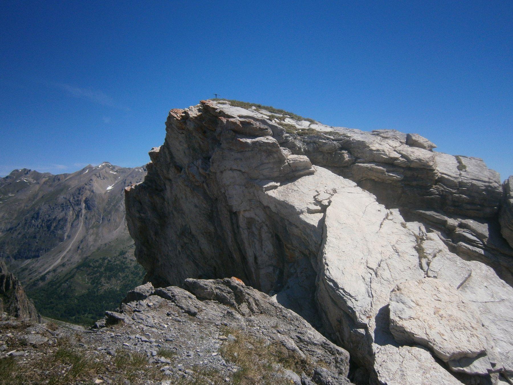 La vetta di roccia Longia