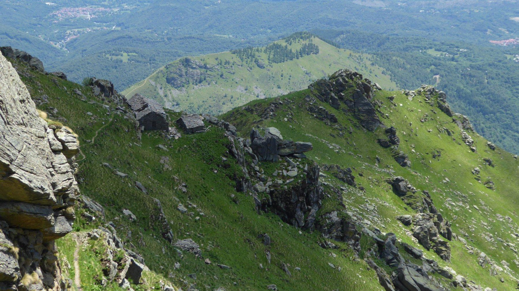 Discesa all'Alpe e Bric Pistone