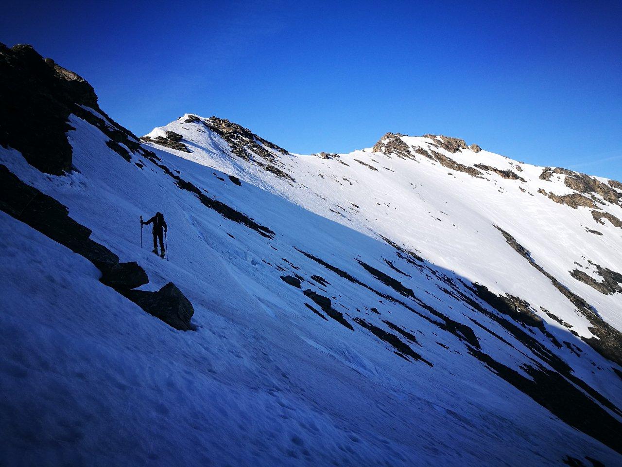 07  - Dal Col de la Calabourdane è evidente la Pointe de l'Arselle