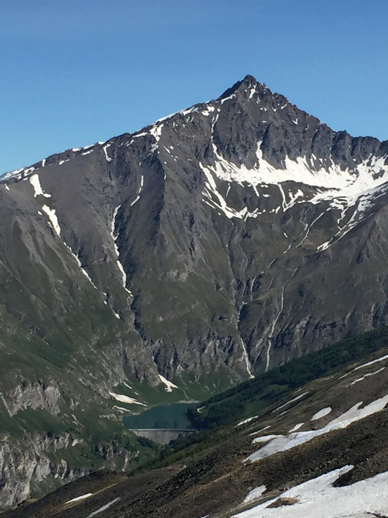 La diga di Rochemolles