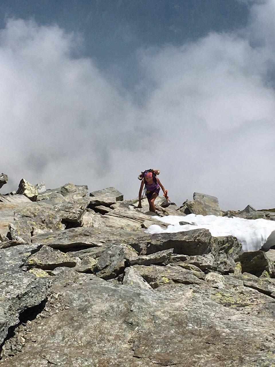 Ultimi 200 mt rocciosi