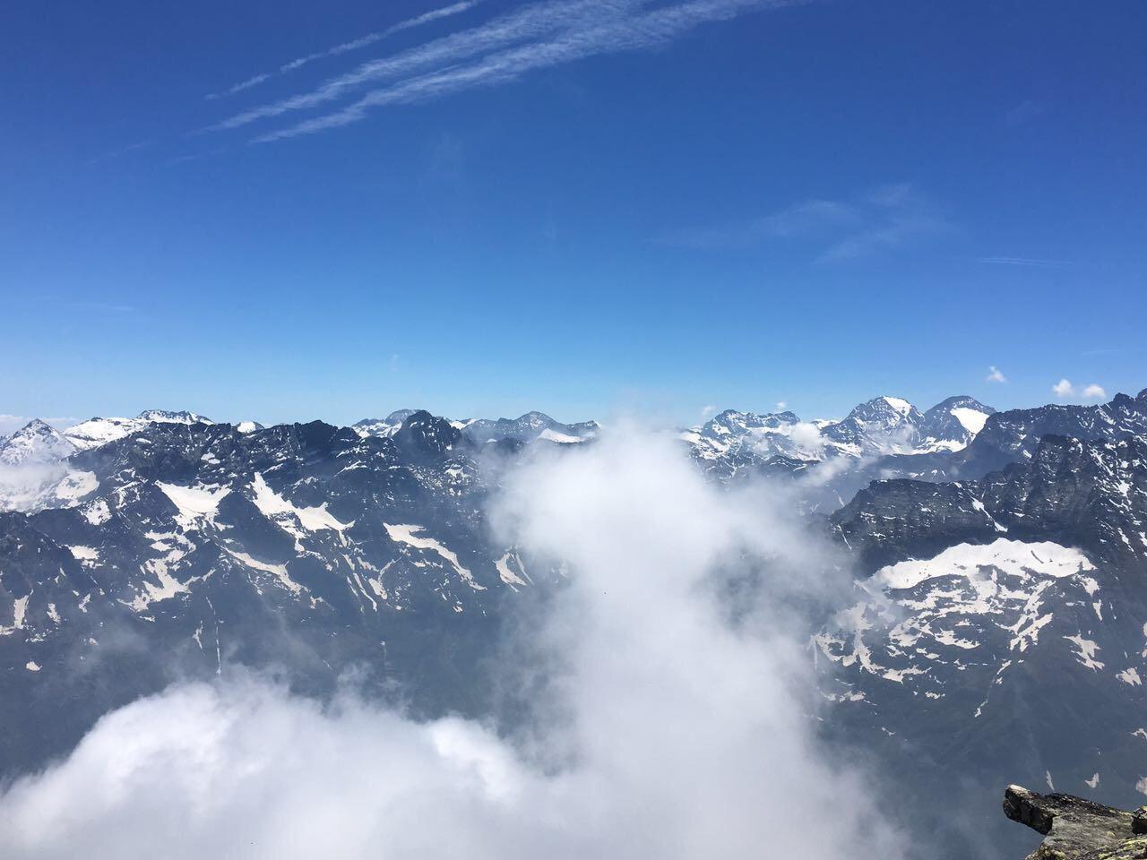 Un pezzo di Panorama dalla cima