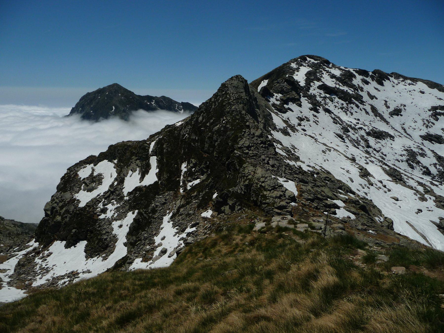 Cresta Nord del Monte Rosso