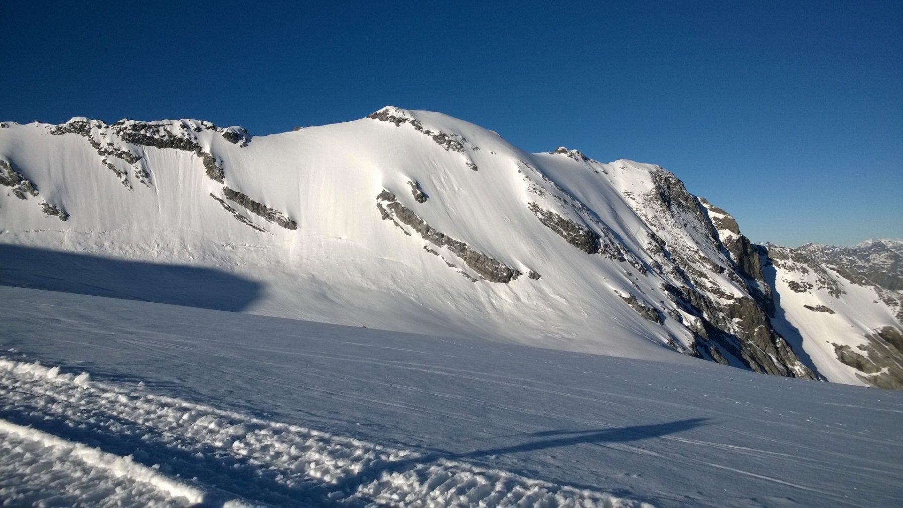 Monte Cristallo: Parete Nord e Cresta Est.