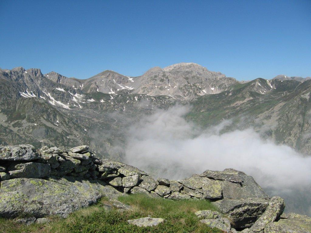 Panorama dalla cima Ruscarina