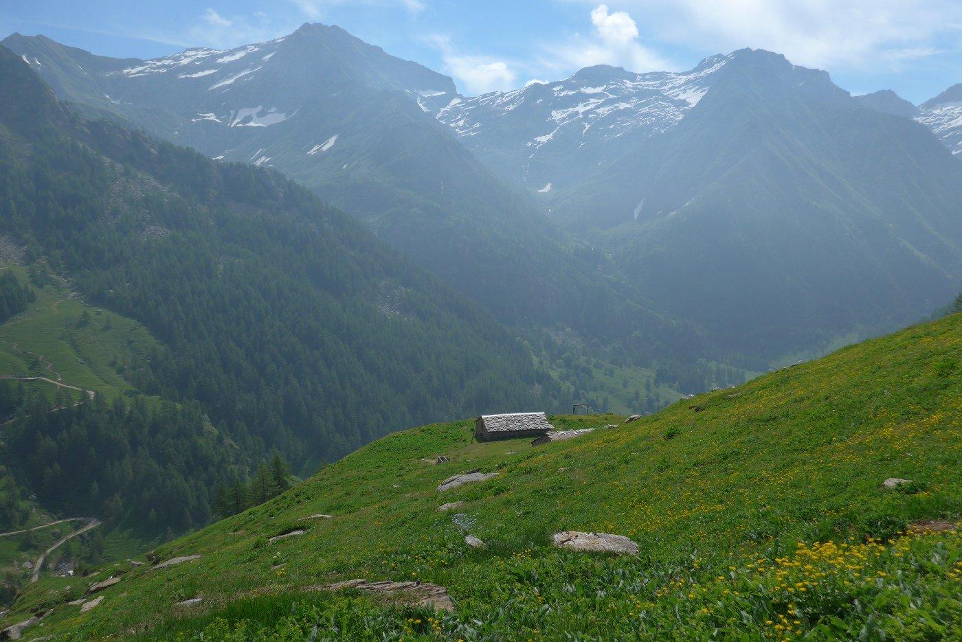 Sopra l'Alpe Vandilliana