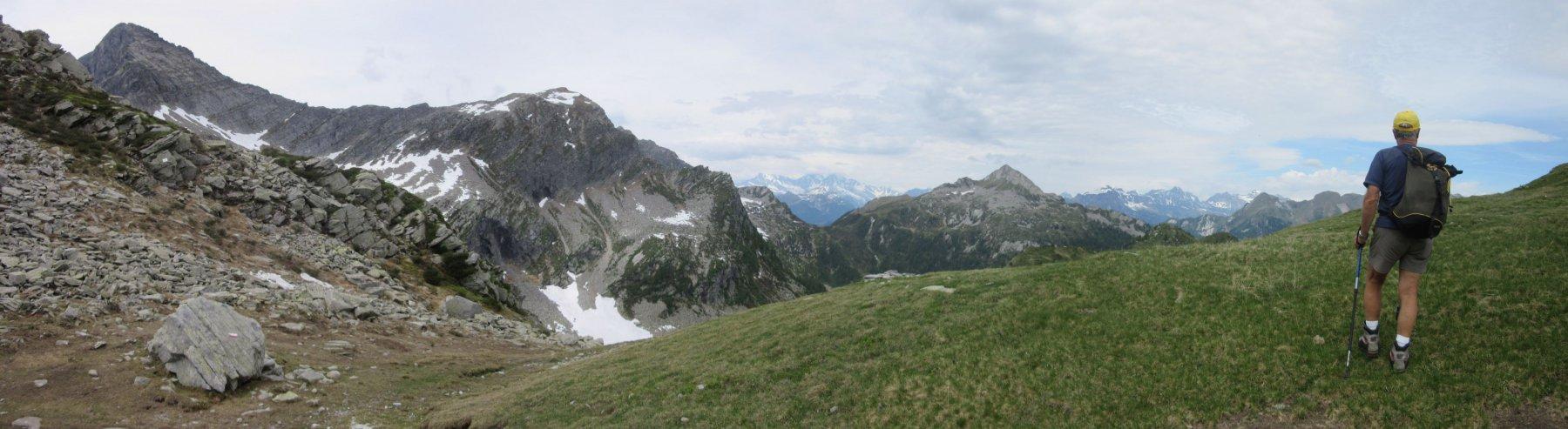 Panorama dalla Forcola di Larecchio