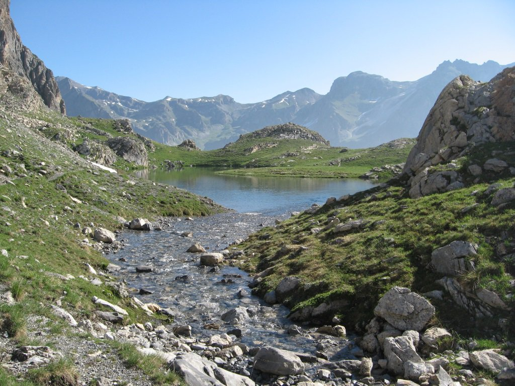 Panorama dal lago Niera