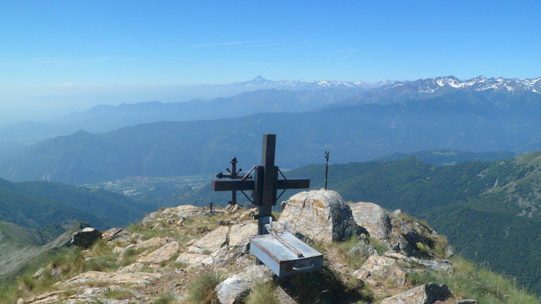 Panorama da Punta sella Croce