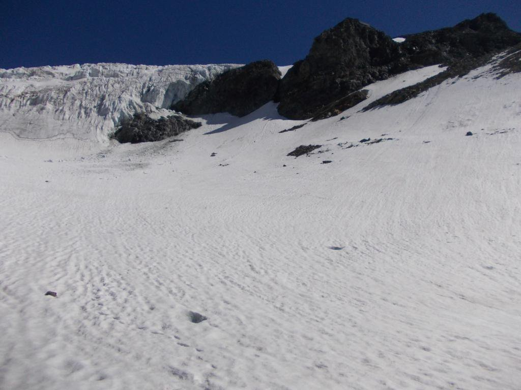 tratto di neve da attraversare