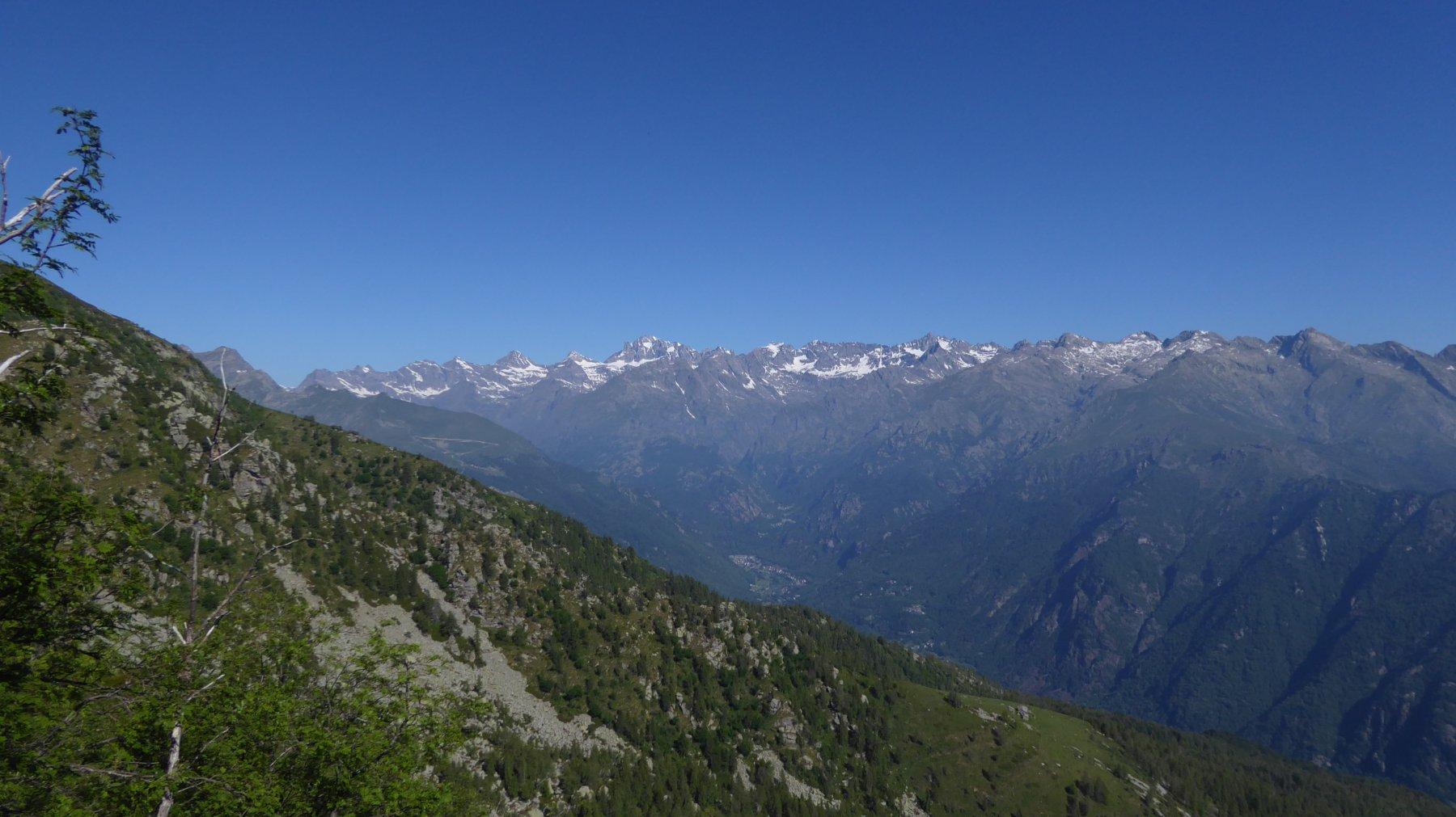 Panorama sulla Valle dell'Orco