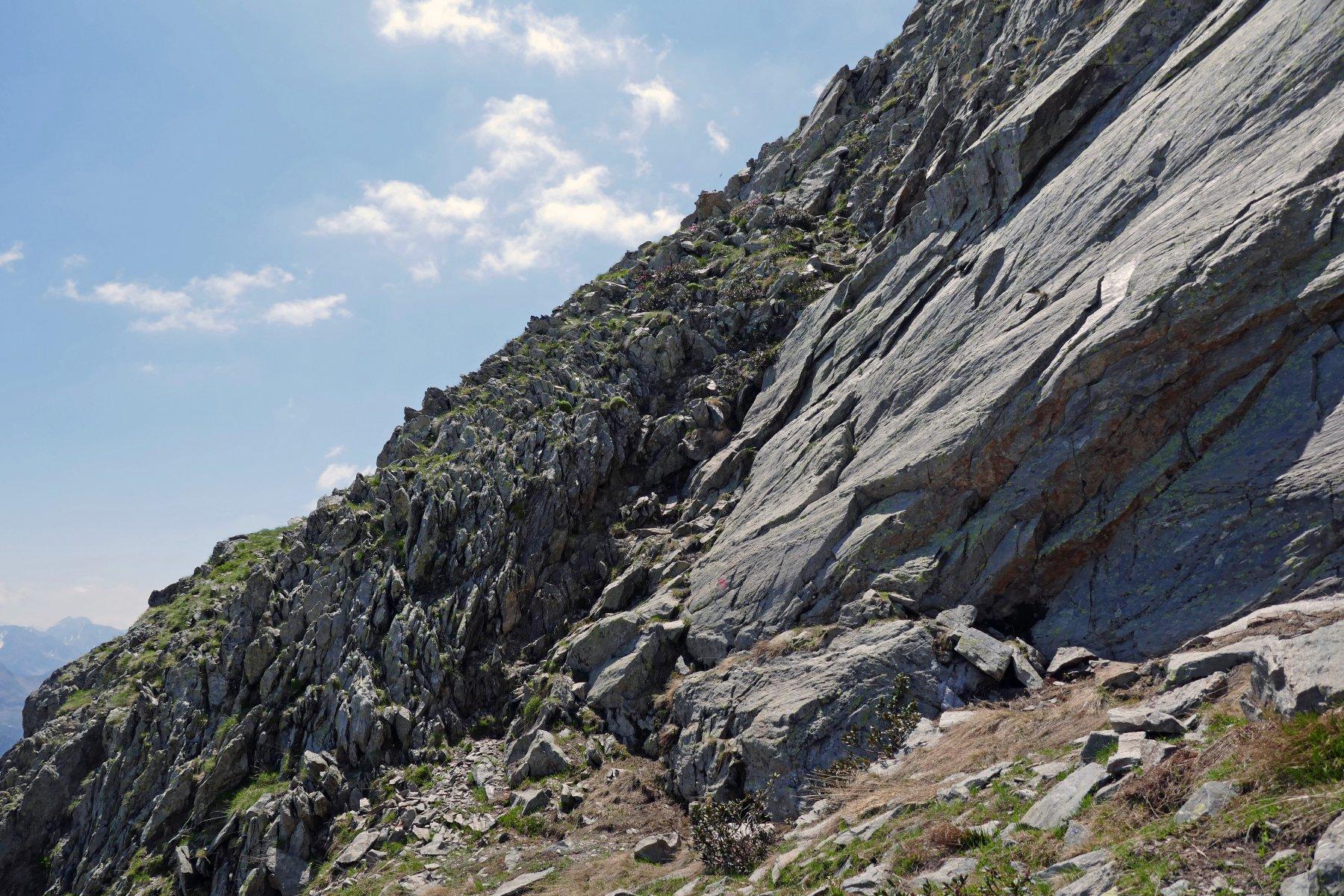 Il breve e divertente salto roccioso