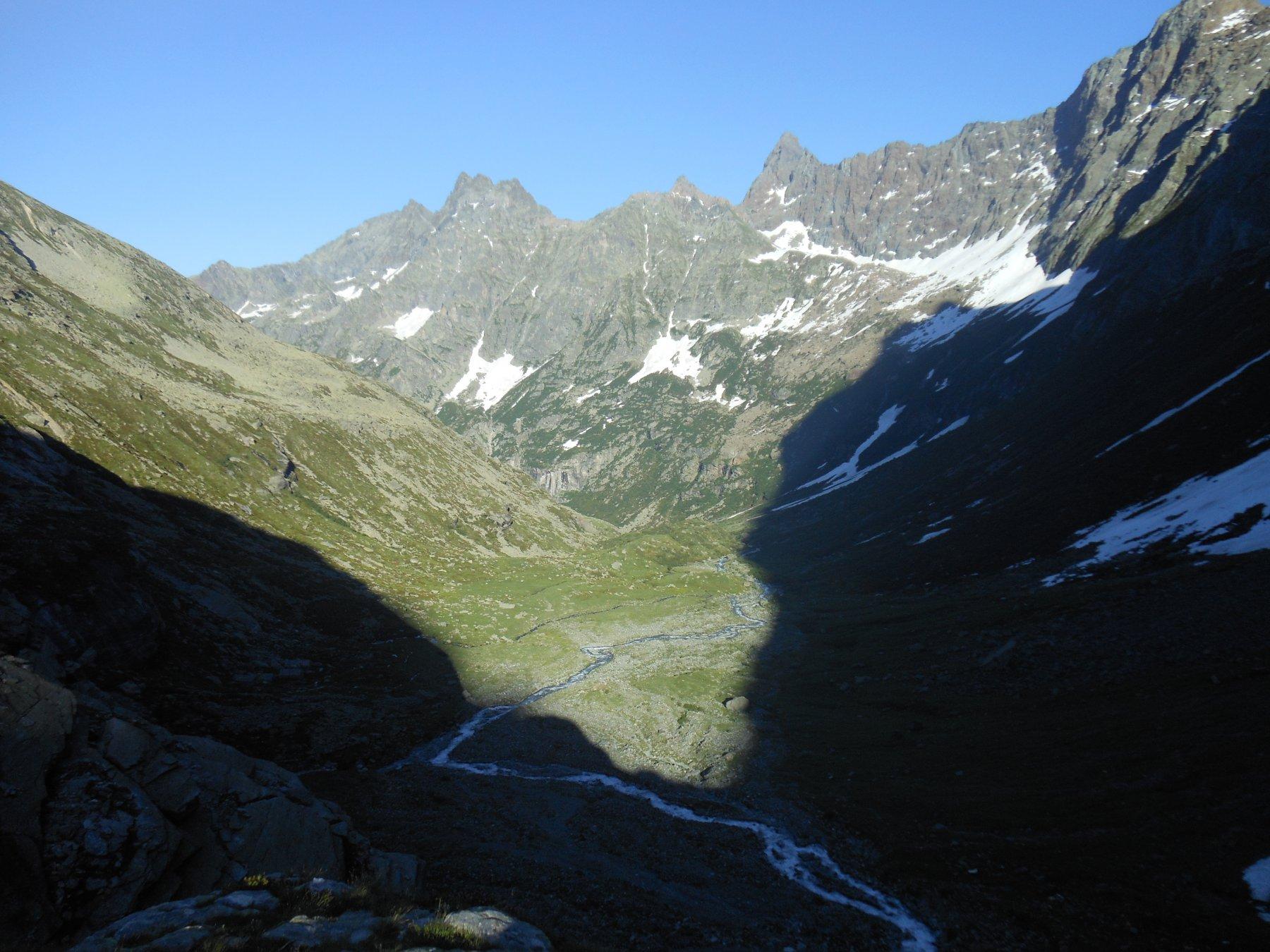 Parte bassa del vallone di Sea