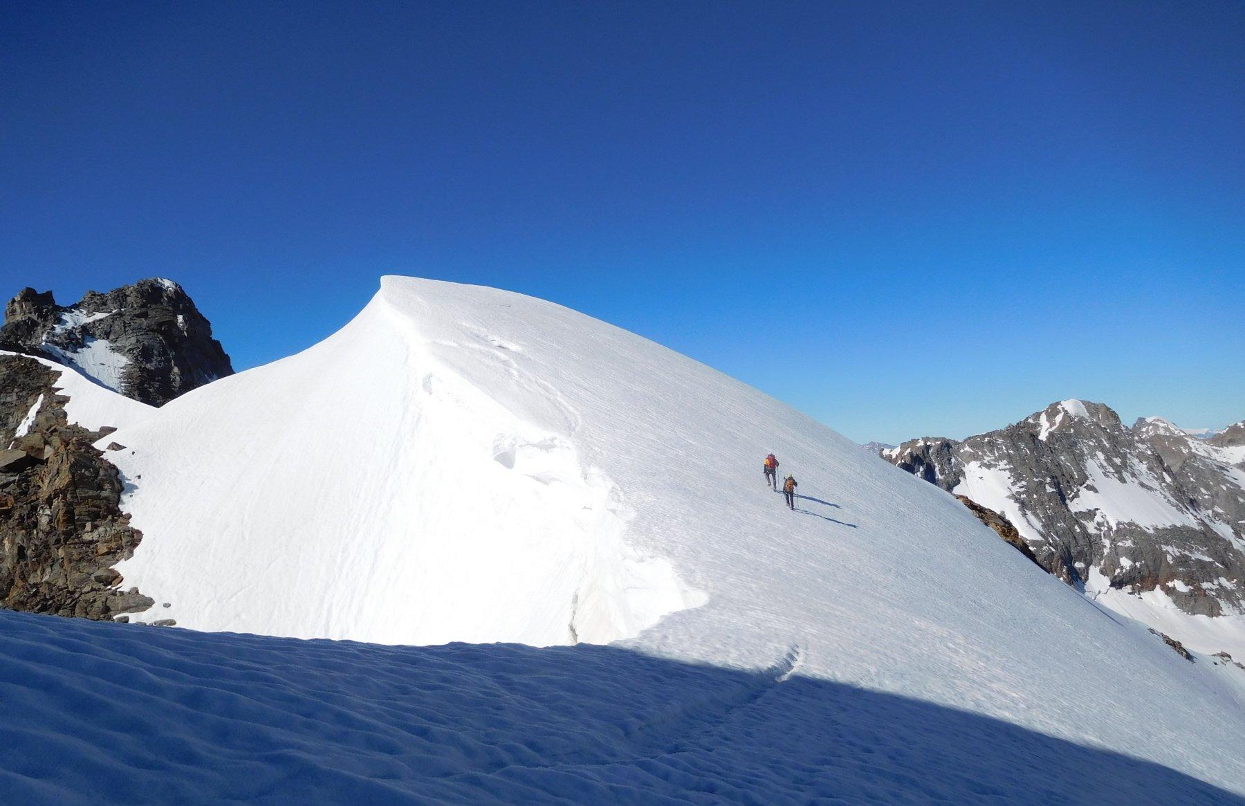 il dosso nevoso quota 3605