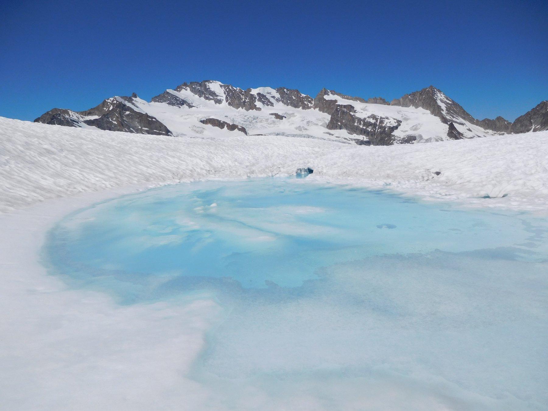 laghi glaciali e Granpa versante est