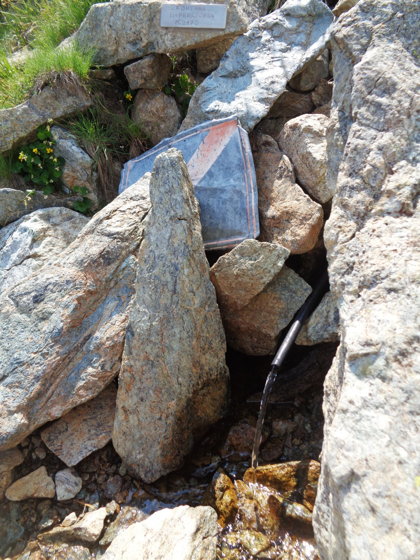 Fontana Imperatoria, 2170m