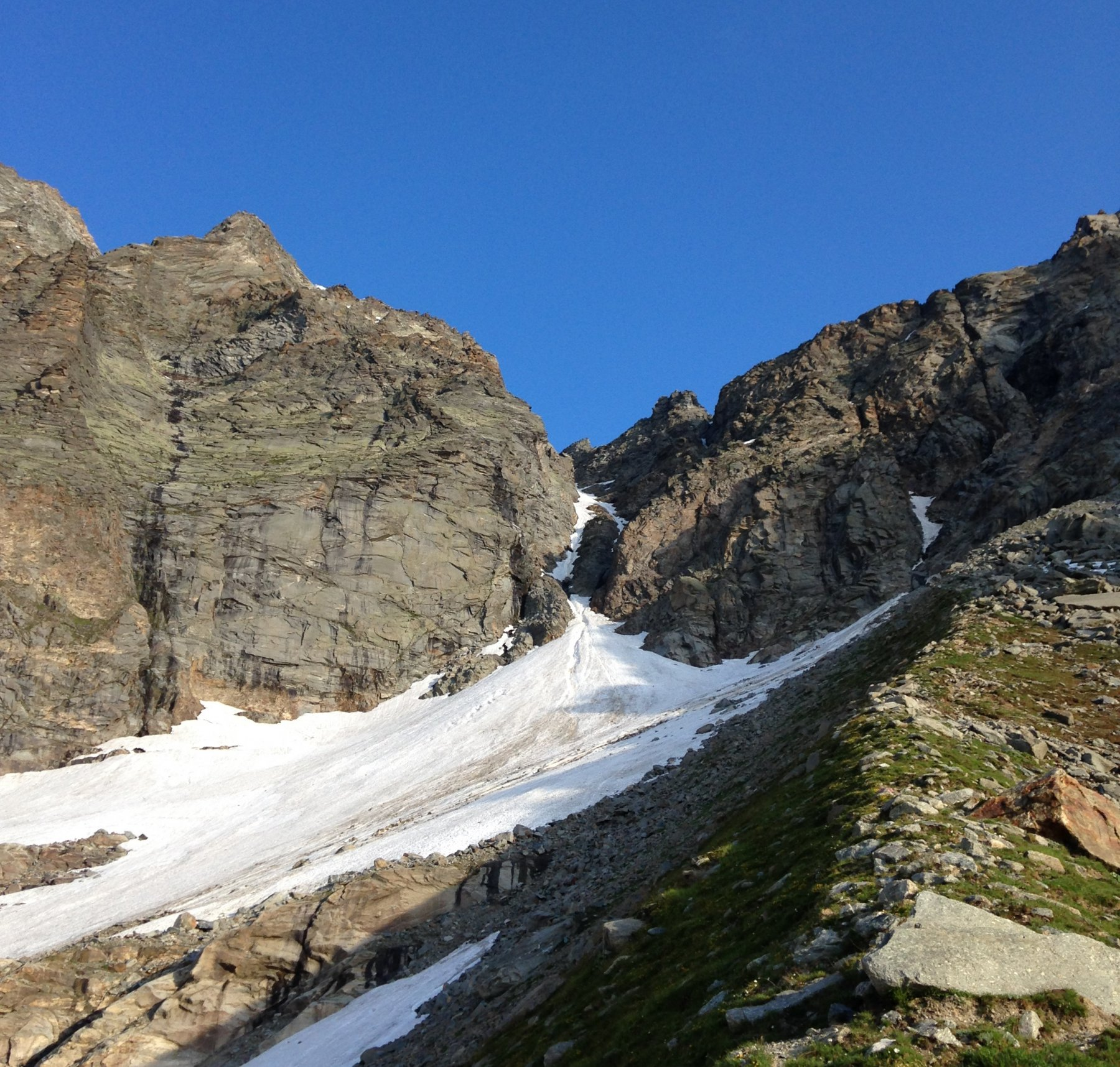 Mulinet (Dome Blanc du) per la breccia Sud del Colle Martellot e la cresta NE 2017-06-21