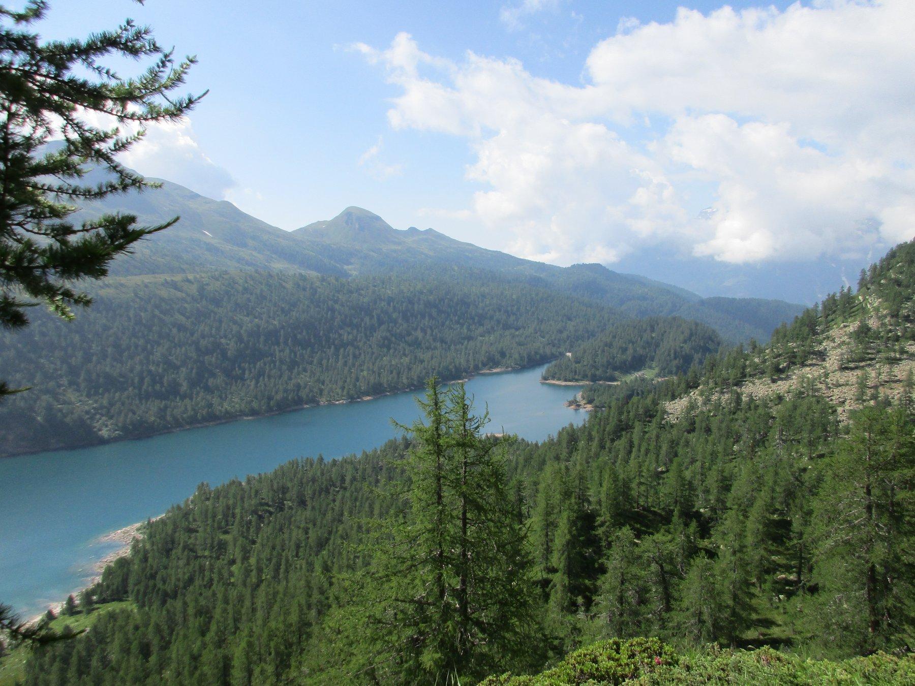 il lago del Devero dall'attacco