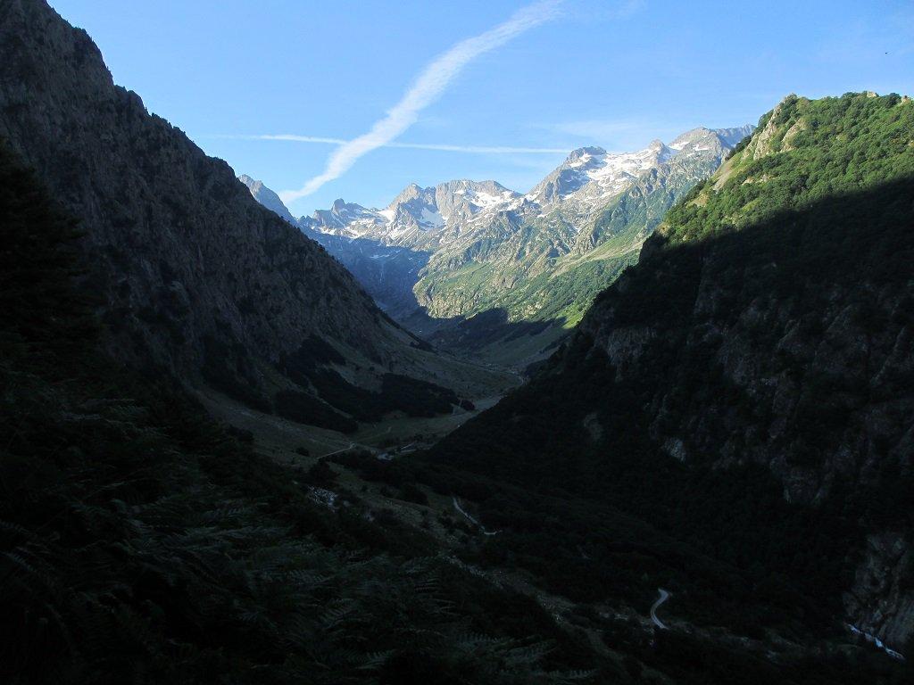 Sul fondo la cima Cossato e Clapier