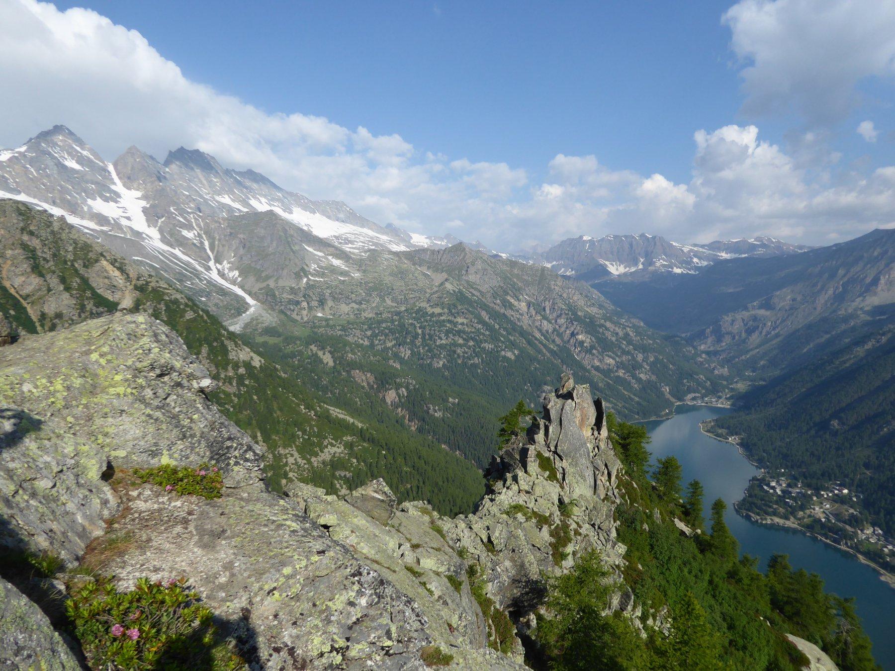 Panorama dal Pruset