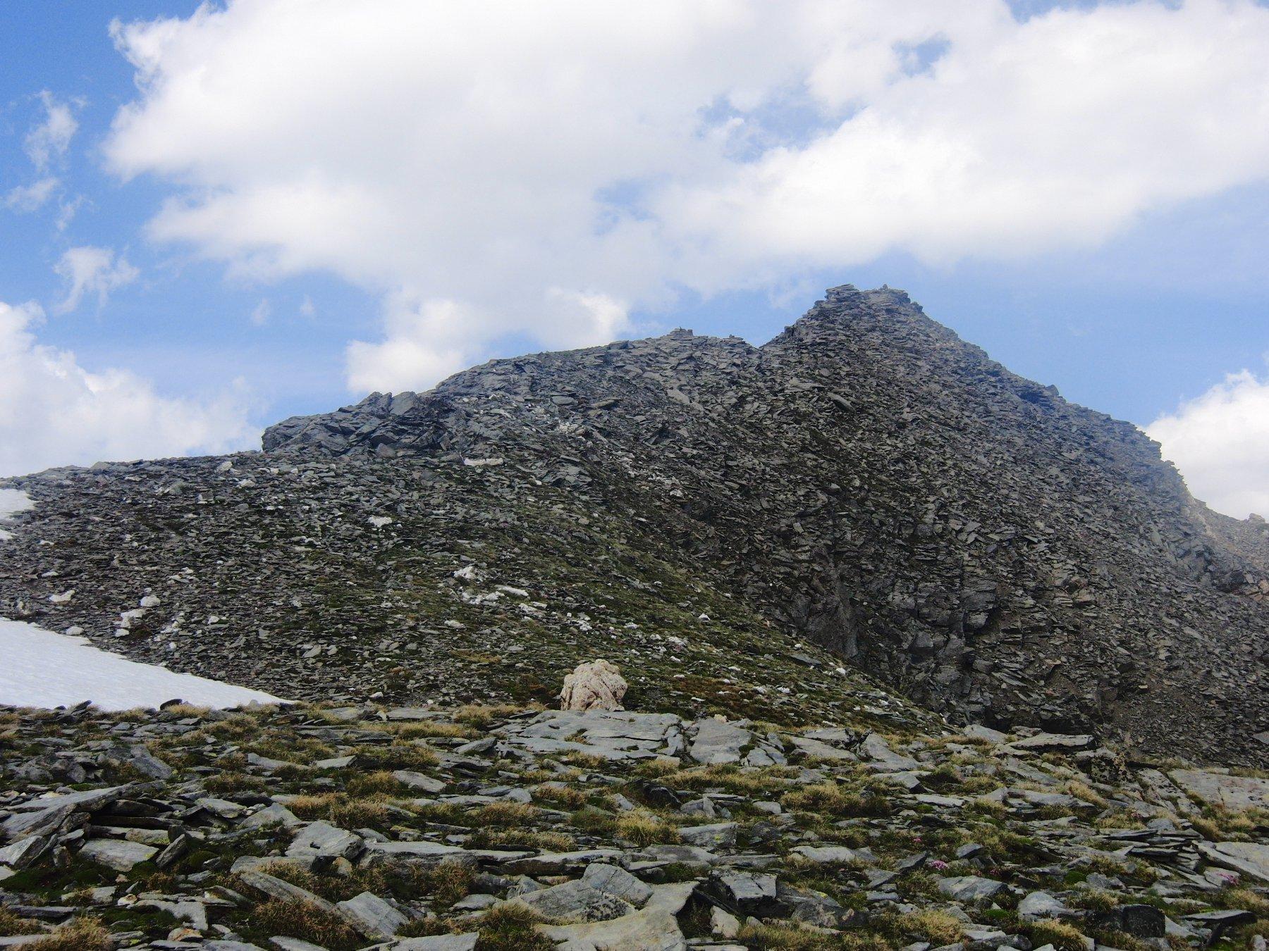 Cresta finale verso la cima