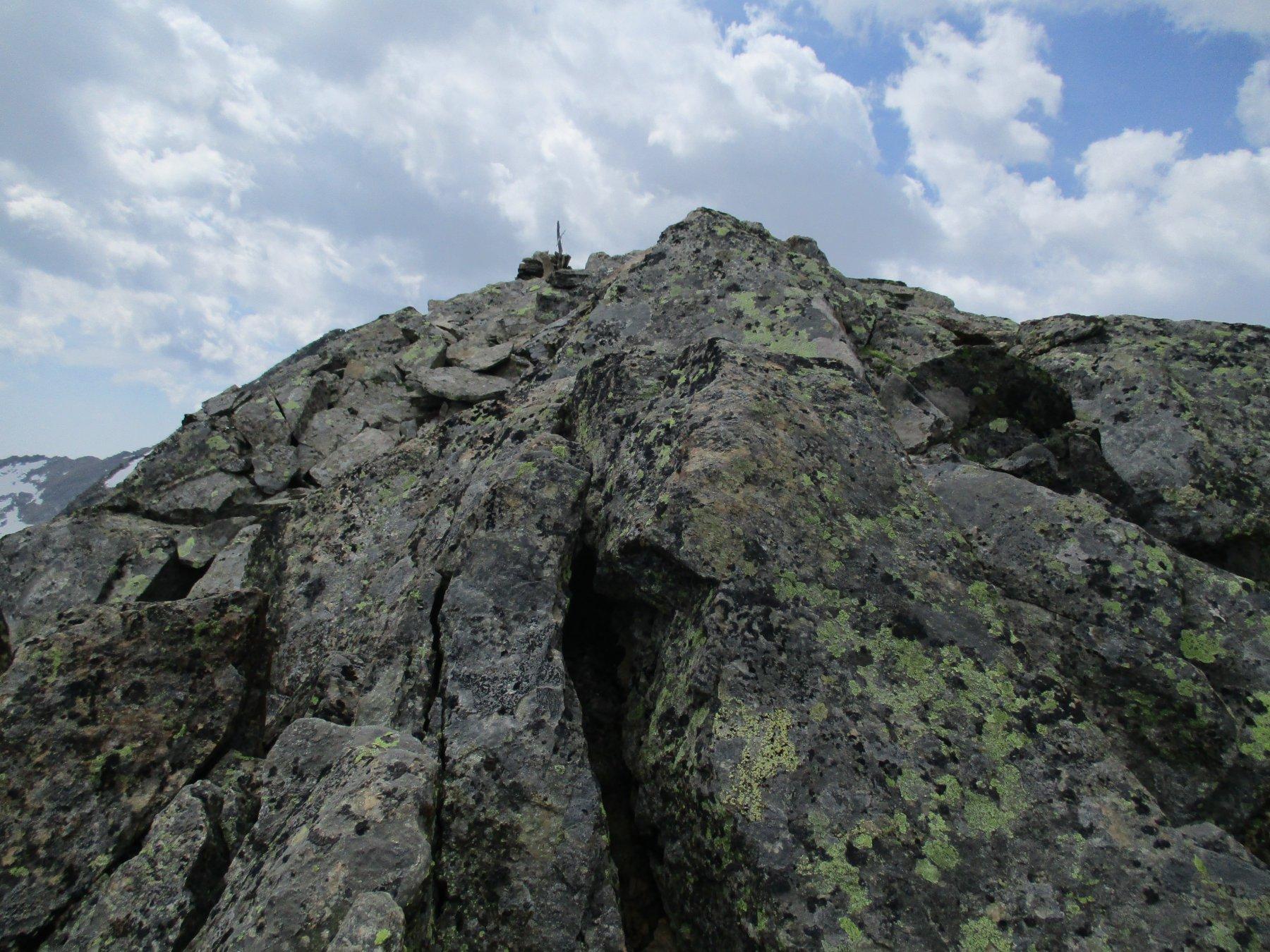 la cima del Rossin