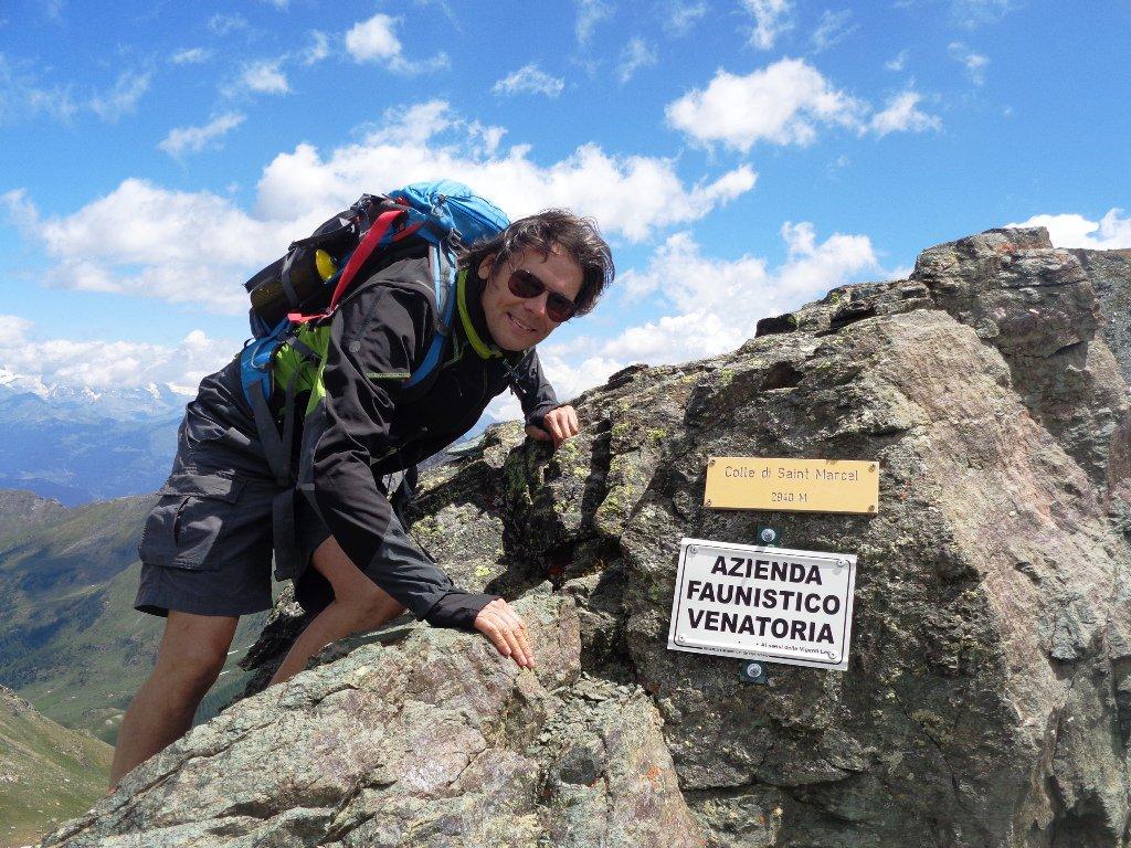 al Col de Saint Marcel, 2913m