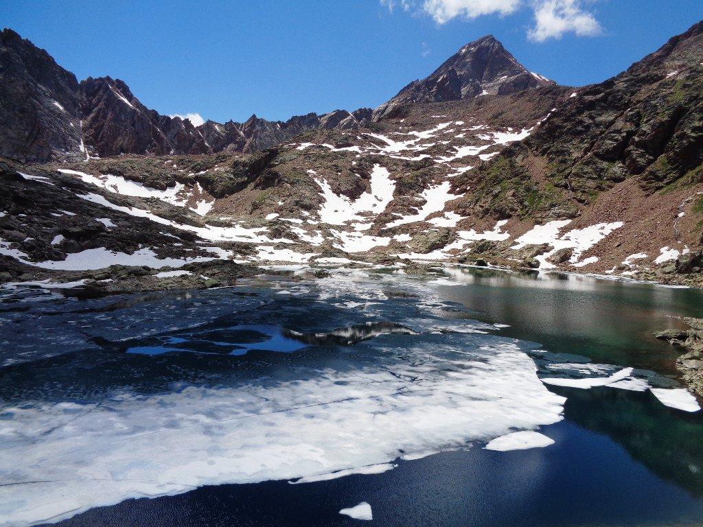 Lago Lussert , 2906m