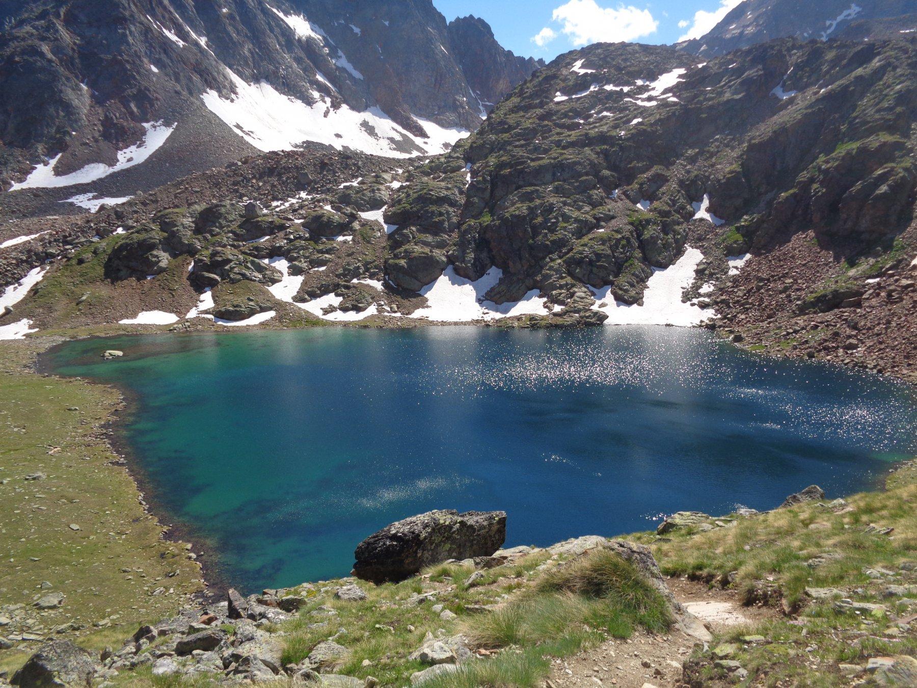 Lago Lussert di mezzo, 2790m