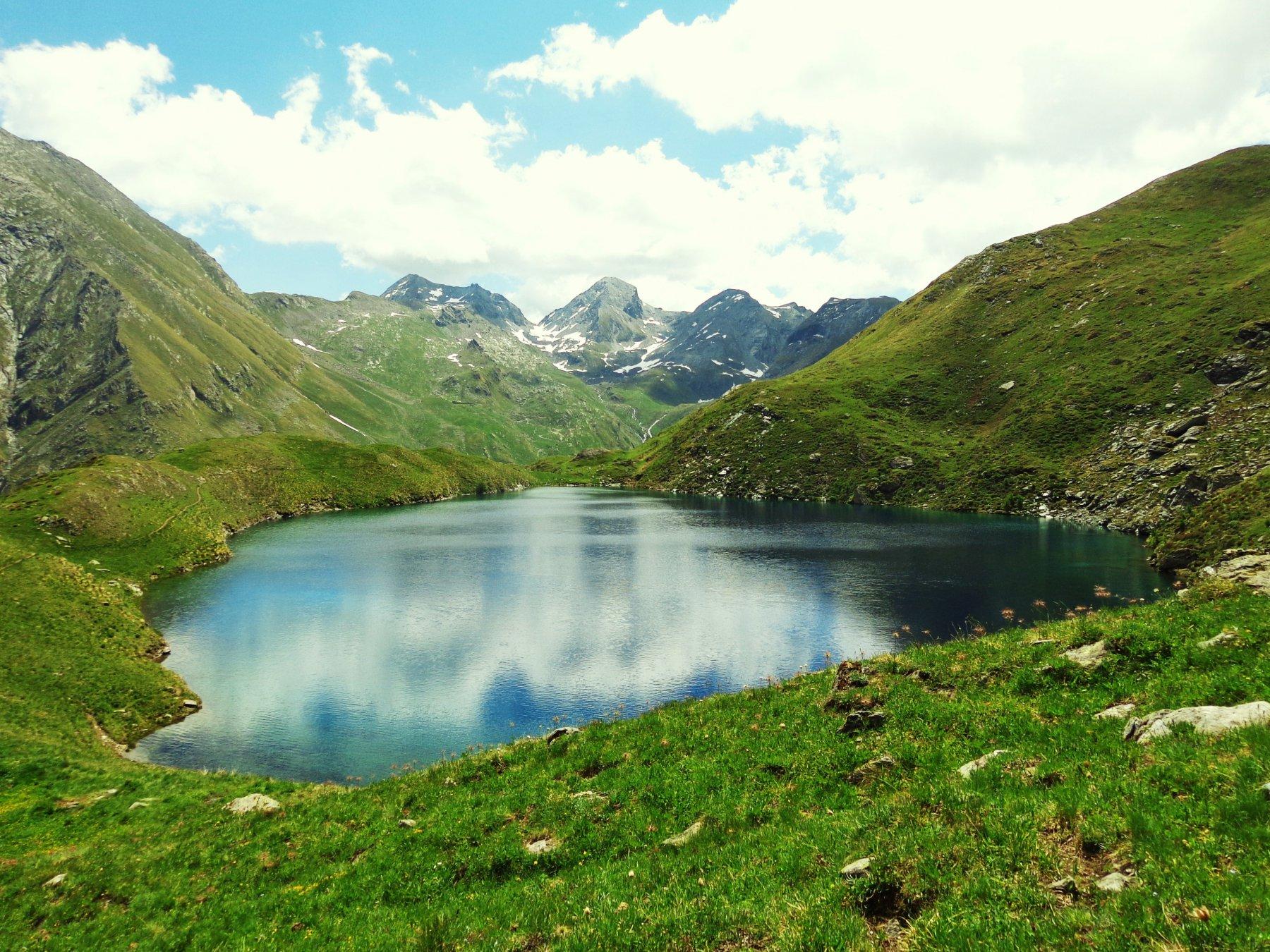 Lago Lavodilec visto dall'alto