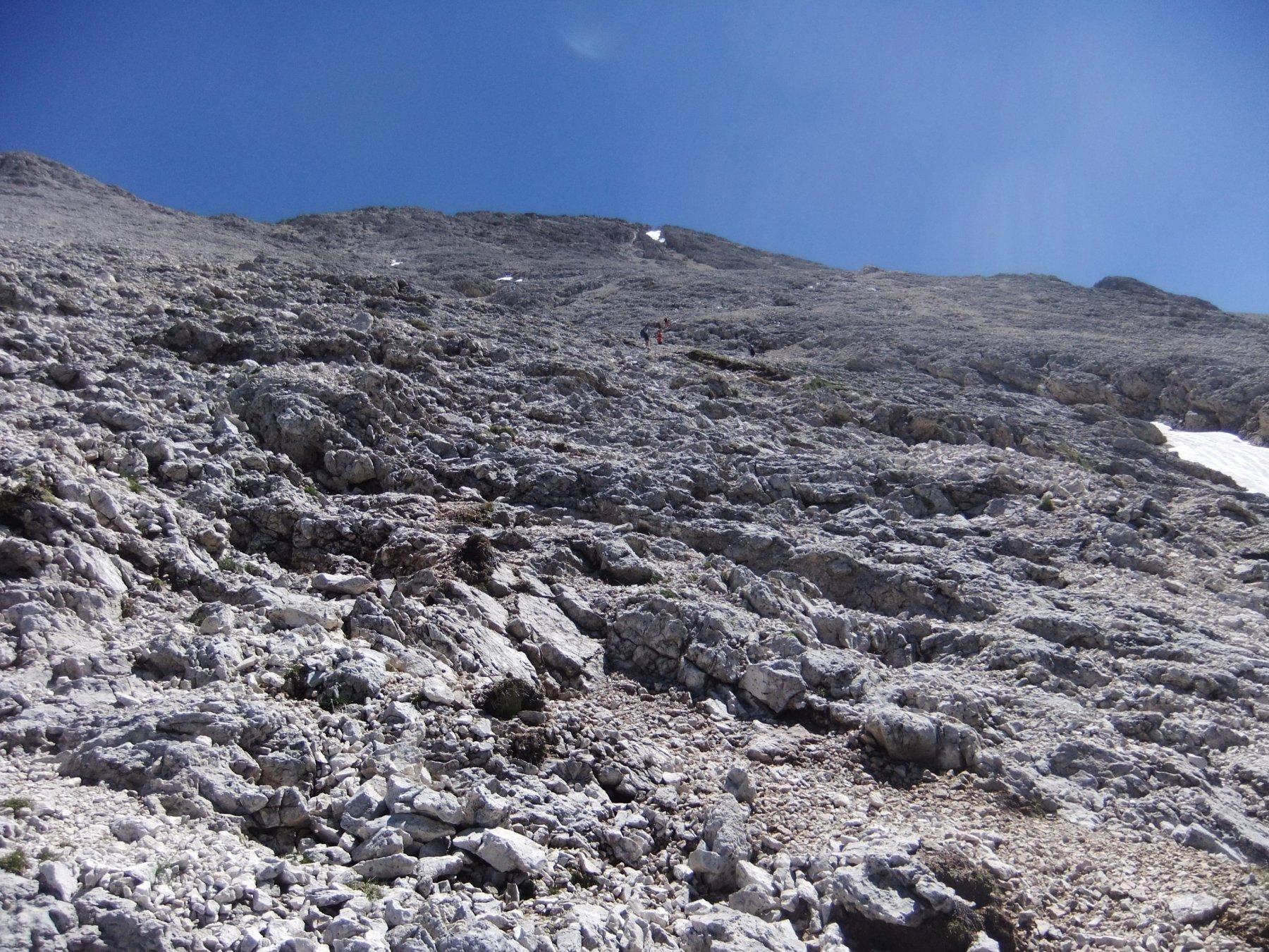 Sassopiatto o Plattkofel dal Passo Sella 2017-06-26