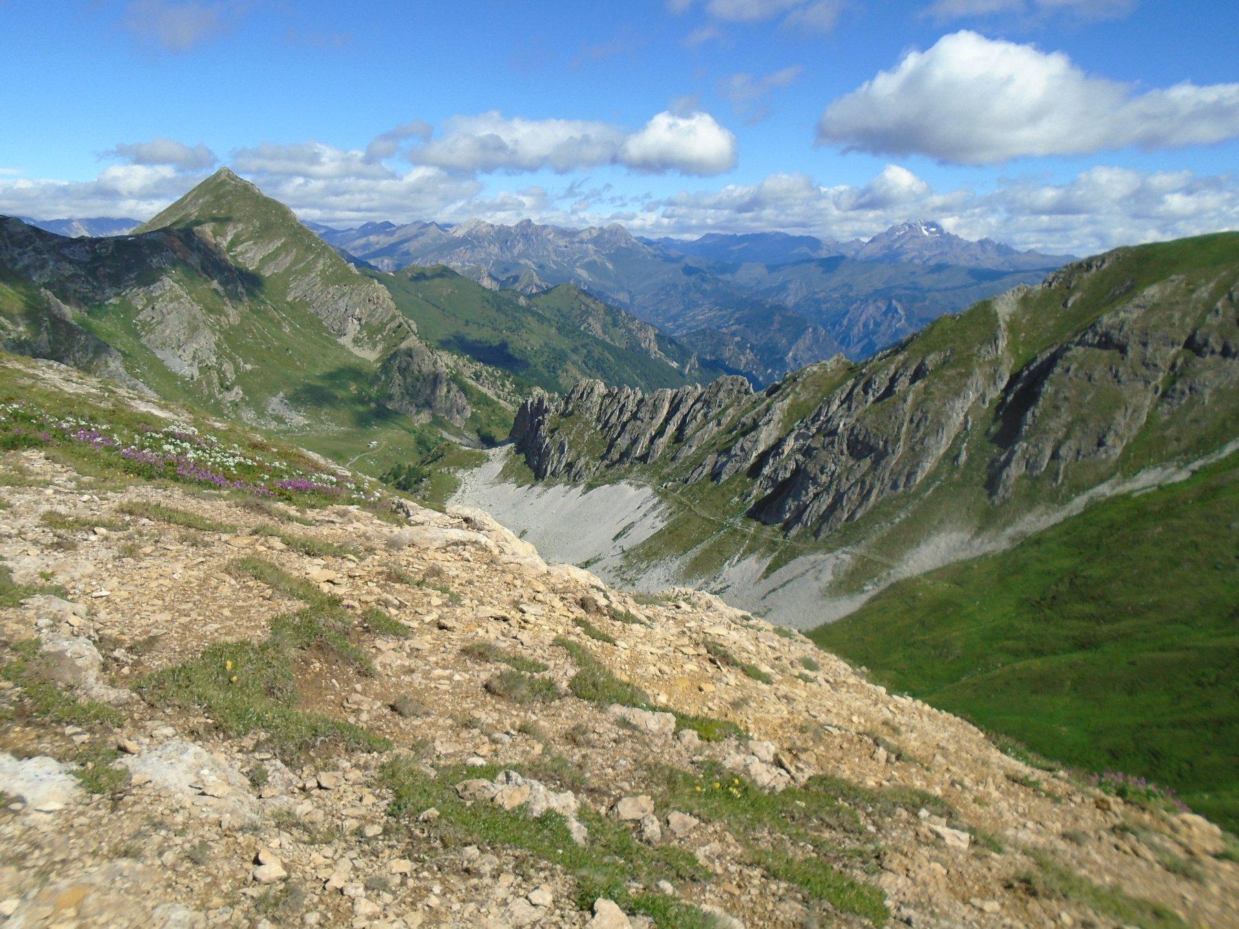 Monte La Bianca (e sua cresta SE) e sentiero di ritorno