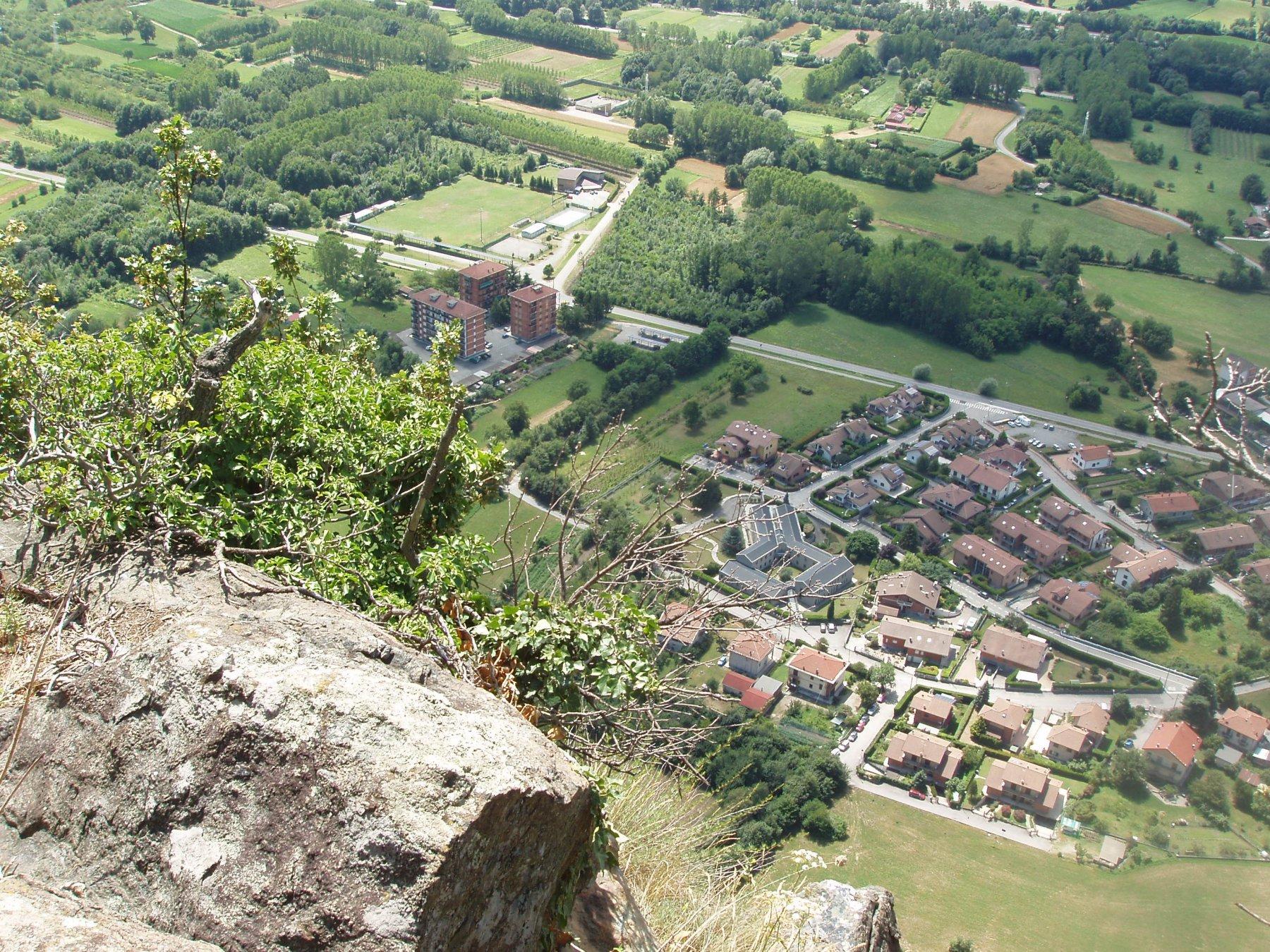Caprie dalla cuspide di Rocca Nera