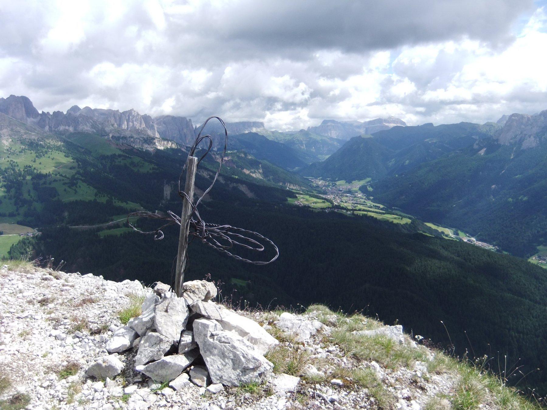 La Val di Fassa dalla cima ignota