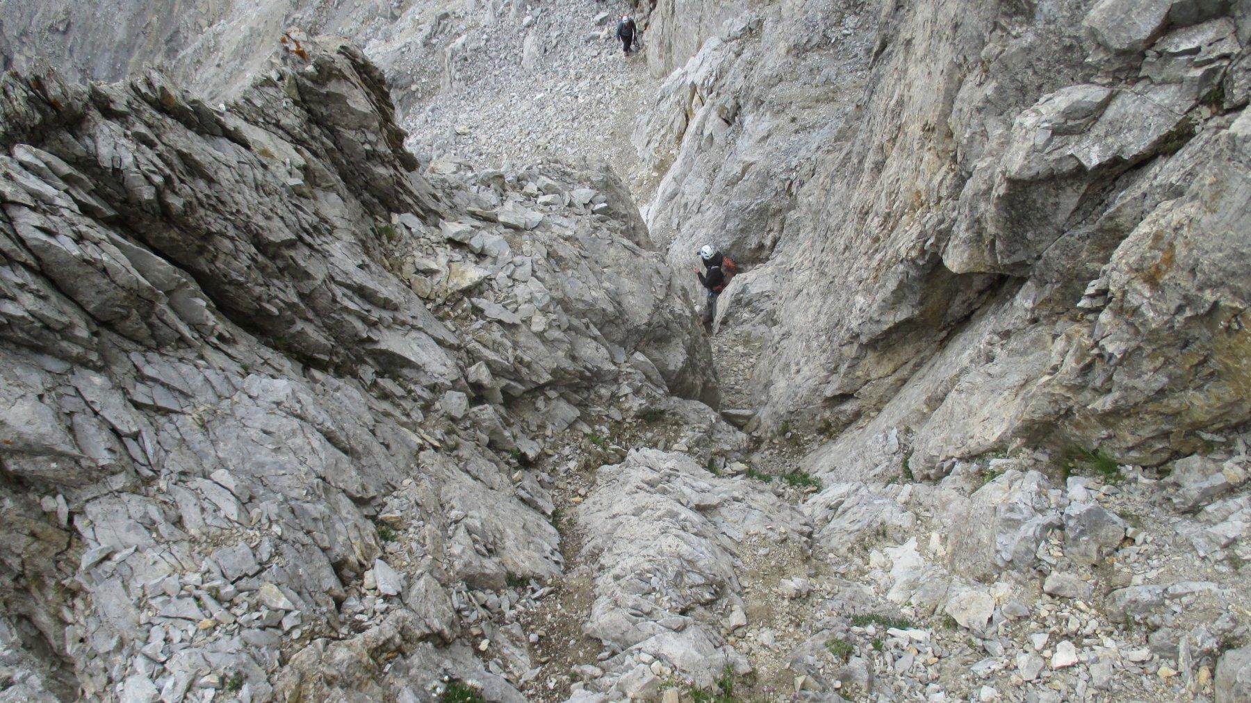Il camino visto dall'alto